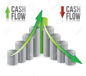 15113488-cash-flow-illustration-graph-over-a-white-background-Stock-Vector