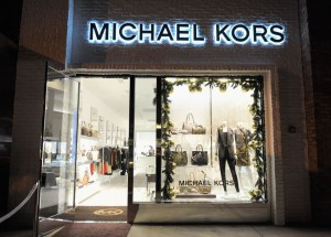 LOS ANGELES, CA - NOVEMBER 16: A general view of atmosphere is seen at the opening of the new Michael Kors boutique on Robertson with an evening hosted by Petra Flannery benefitting St. Jude Children's Research Hospital at Michael Kors on Robertson on November 16, 2011 in Los Angeles, California. (Photo by Charley Gallay/Getty Images For Michael Kors)