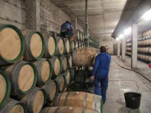 trasiego barricas vino
